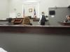 Scoring judges sit in jury box