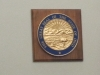 Seal of Ohio above the judge\'s bench