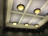 ceiling lights in courtroom