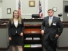 Defense attorneys Alexis and Wes