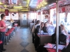 Mock Trial team in the Steel Trolley Diner