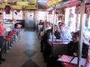 Mock Trial team ready to eat at the Steel Trolley Diner