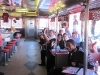 Mock Trial team celebrates victory at the Steel Trolley Diner