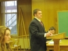 Wes delivering the opening statement (Jeff. Co. Court)
