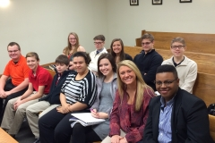 Mock Trial 2016 Dillonvale practice