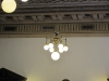 ceiling lights in the courtroom